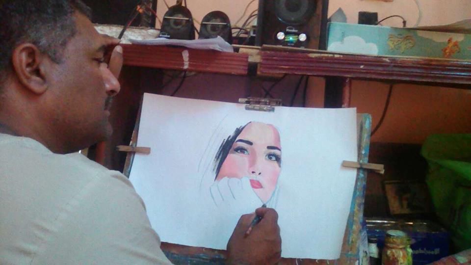 الأستاذ ناصر ياسين فنان الجنوب