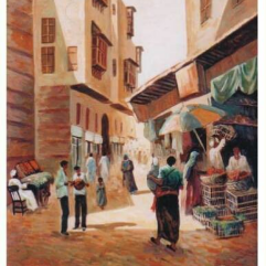 Al Gamaleya district Old Cairo