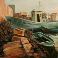 Shatt Alexandria  paintings are all of reality