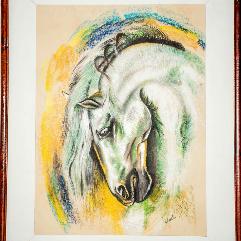 الحصان الابيض
