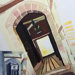 مدخل بيت صنعاني