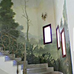 جداريه منظر طبيعي