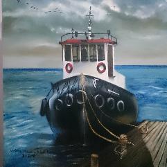 قارب الصيد