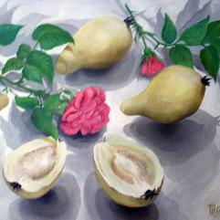 الجوافة و الورود