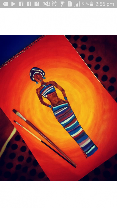The African Lady