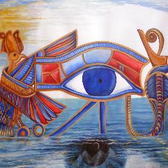Egypt Metamorphoses 06 Eye Of A Deity
