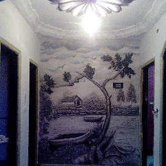 Sculpture Wall Painting
