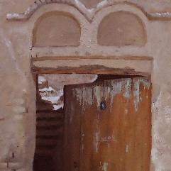 باب وجدار