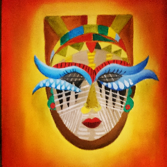 ماسك افريقي