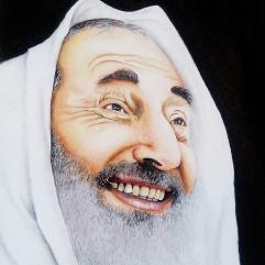 بورتريه للشيخ احمد ياسن