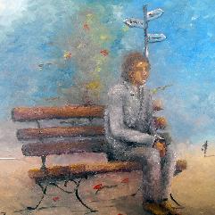 الانتظار وحيدا
