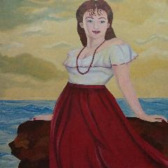 الفتاة والبحر