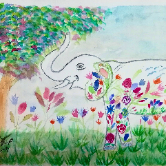 Rosey Elephant