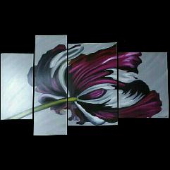 الوردة القرمزية