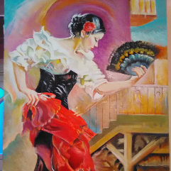 راقصة الفلامنجو
