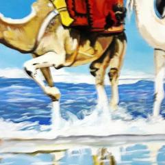 قافلة على البحر