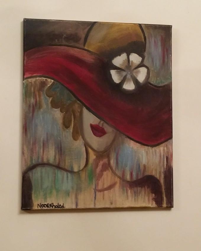 الفتاة بالقبعة الحمراء