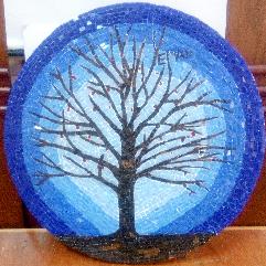 شجرة الموزايك