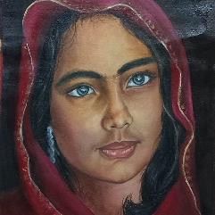 فتاه افغانيه