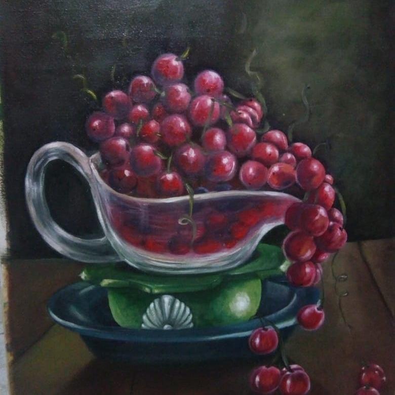 العنب احمر