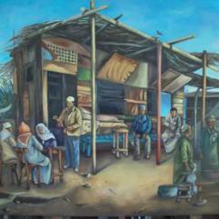 Fishermens Cafe in Manzala Lake