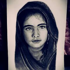 الفتاة الافغانيه