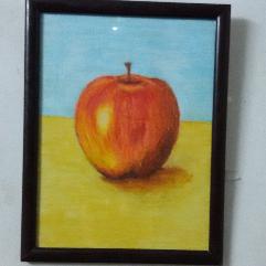 التفاحة الحمراء