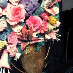 3 D Flowers Artwork