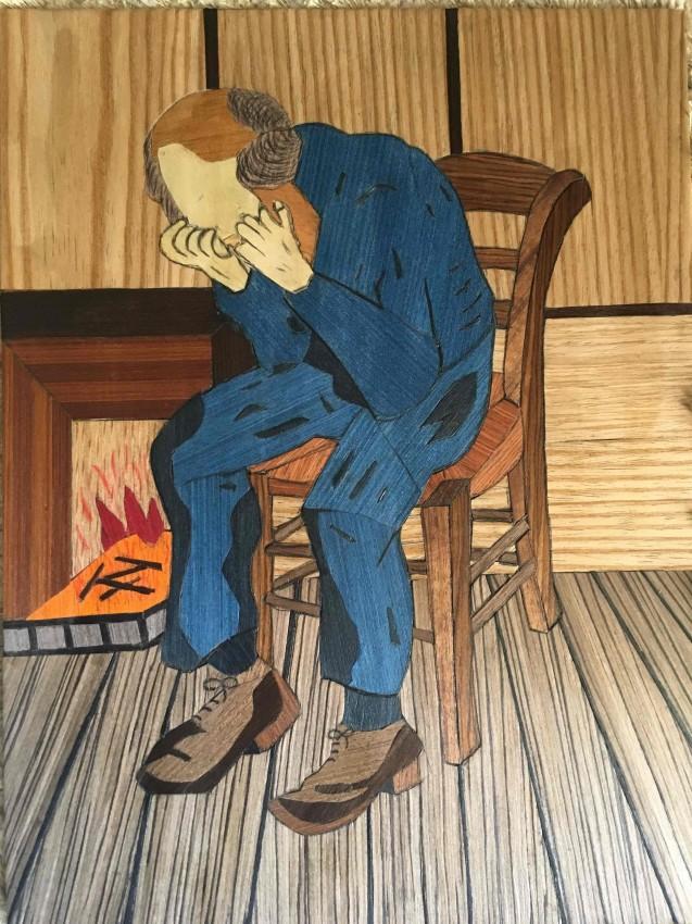 ماركتريه), الرجل الحزين )