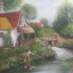 بيت اوربى على النهر