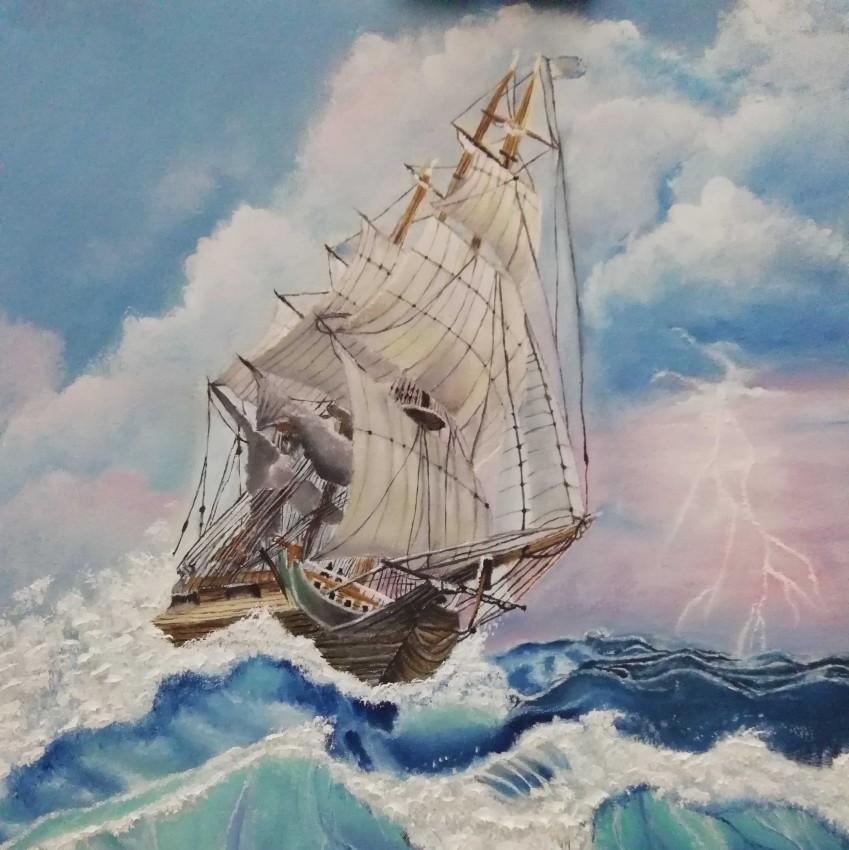 عاصفة البحر