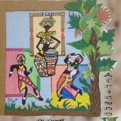 رقصة الالوان الأفريقية