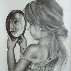 الفتاة الجميلة