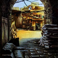 مخزن قديم للفحم
