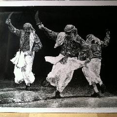 رقص البرع