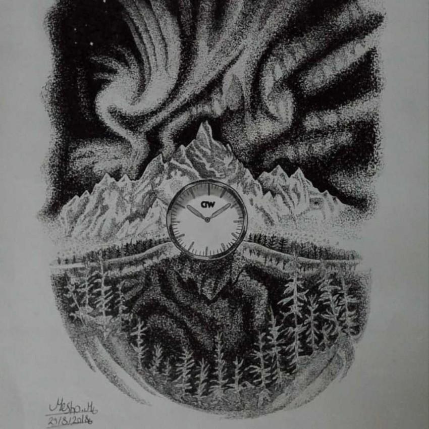 Still Life ( Dotting Art )