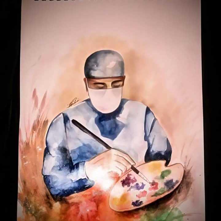 الجراح الفنان 🎨