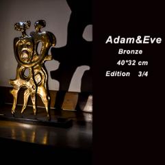 ( آدم و حواء ( برونز