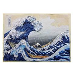 أمواج البحر بجوار كاناجاوا