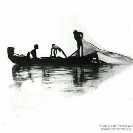 قارب الصيادين