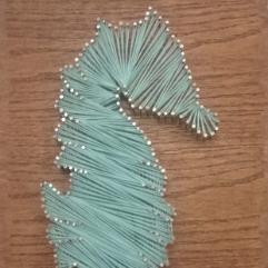 ( حصان البحر (  فن الخيوط