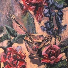 طاولة الورود
