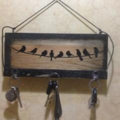 ( طيور ( علاقة للمفاتيح