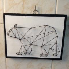 (الدب ( فن الخيوط