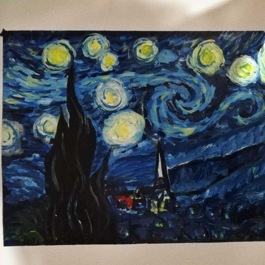(ليلة النجوم  (فان جوخ