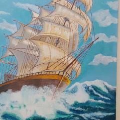 مركب بحري