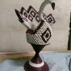 Statue Of A Swan 2