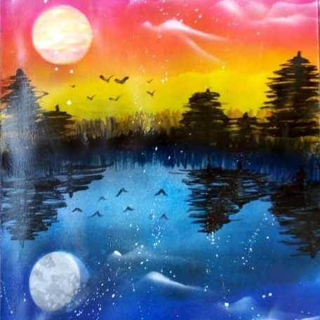 Nature's Beauty (Spray Art)