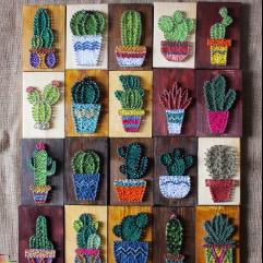 Cactus  (String Art)