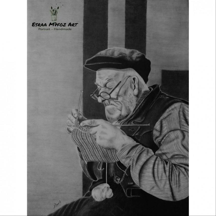 رجل عجوز 🎨